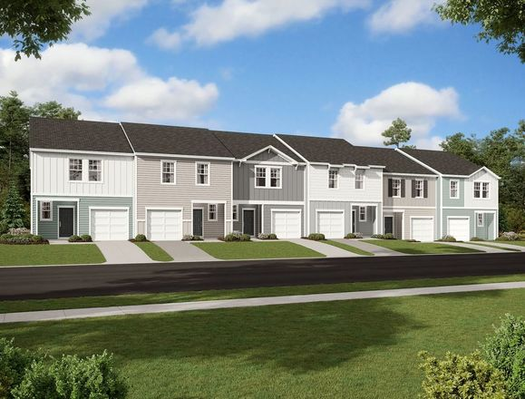 Ready To Build Home In Parkway Station Community