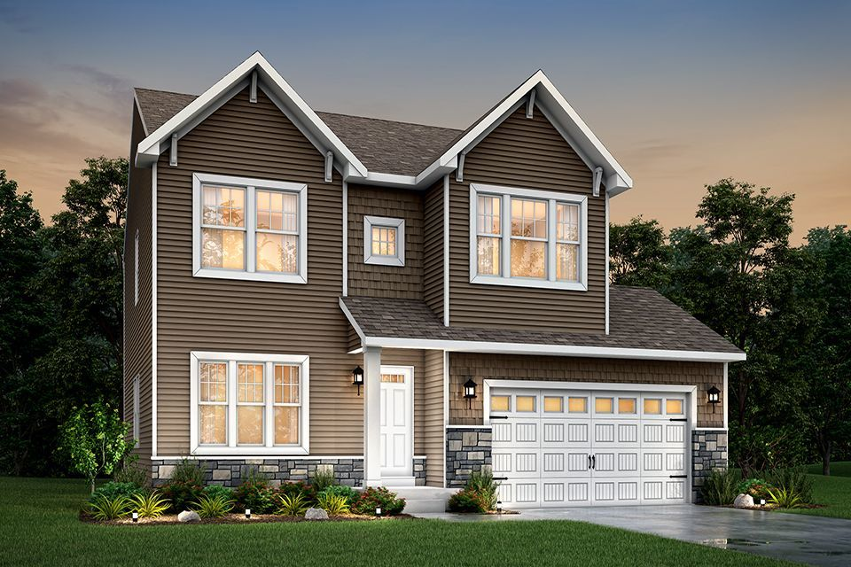 Ready To Build Home In Potato Creek Crossing Community