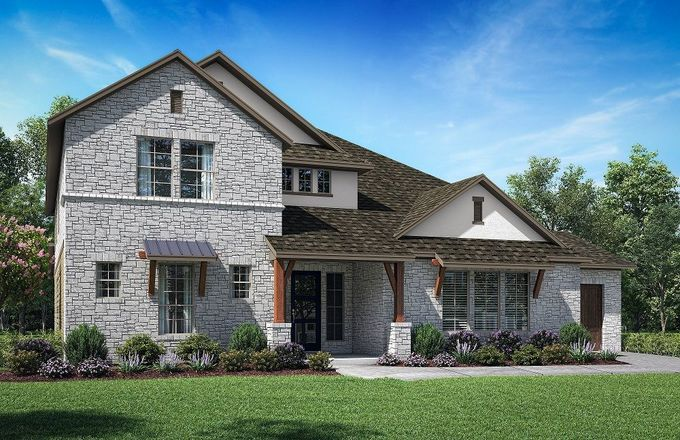 Ready To Build Home In Lakes of Argyle Community