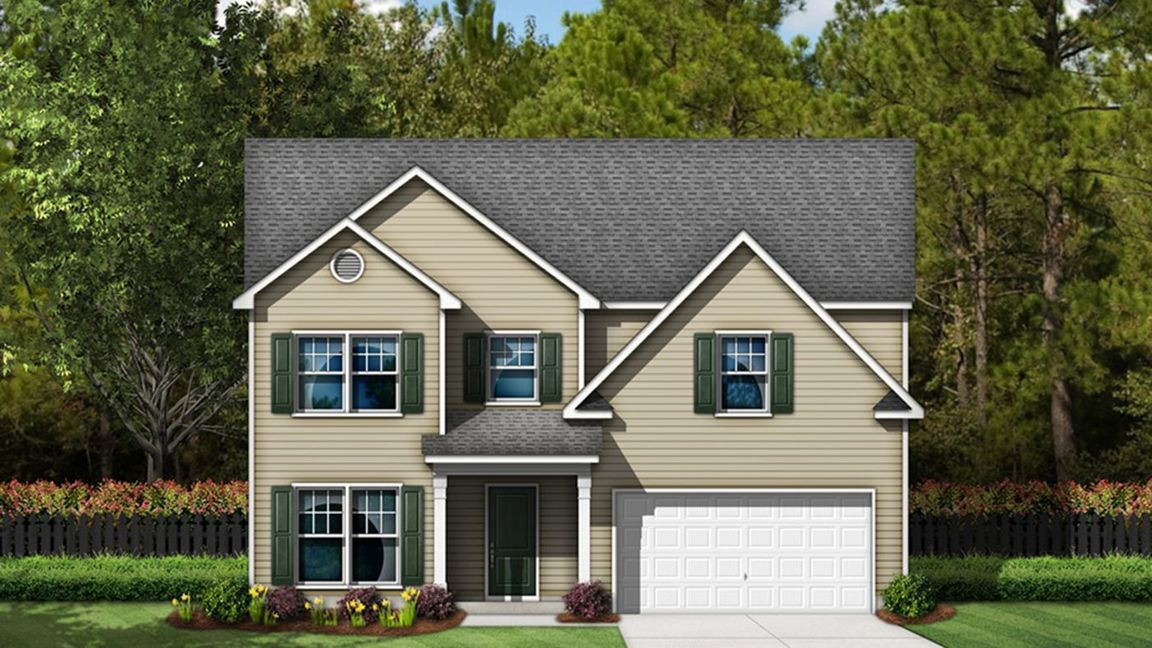 Move In Ready New Home In Mayfield Crossing Community