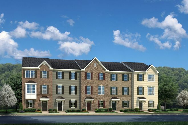 Ready To Build Home In Arcola Town Center Townhomes Community