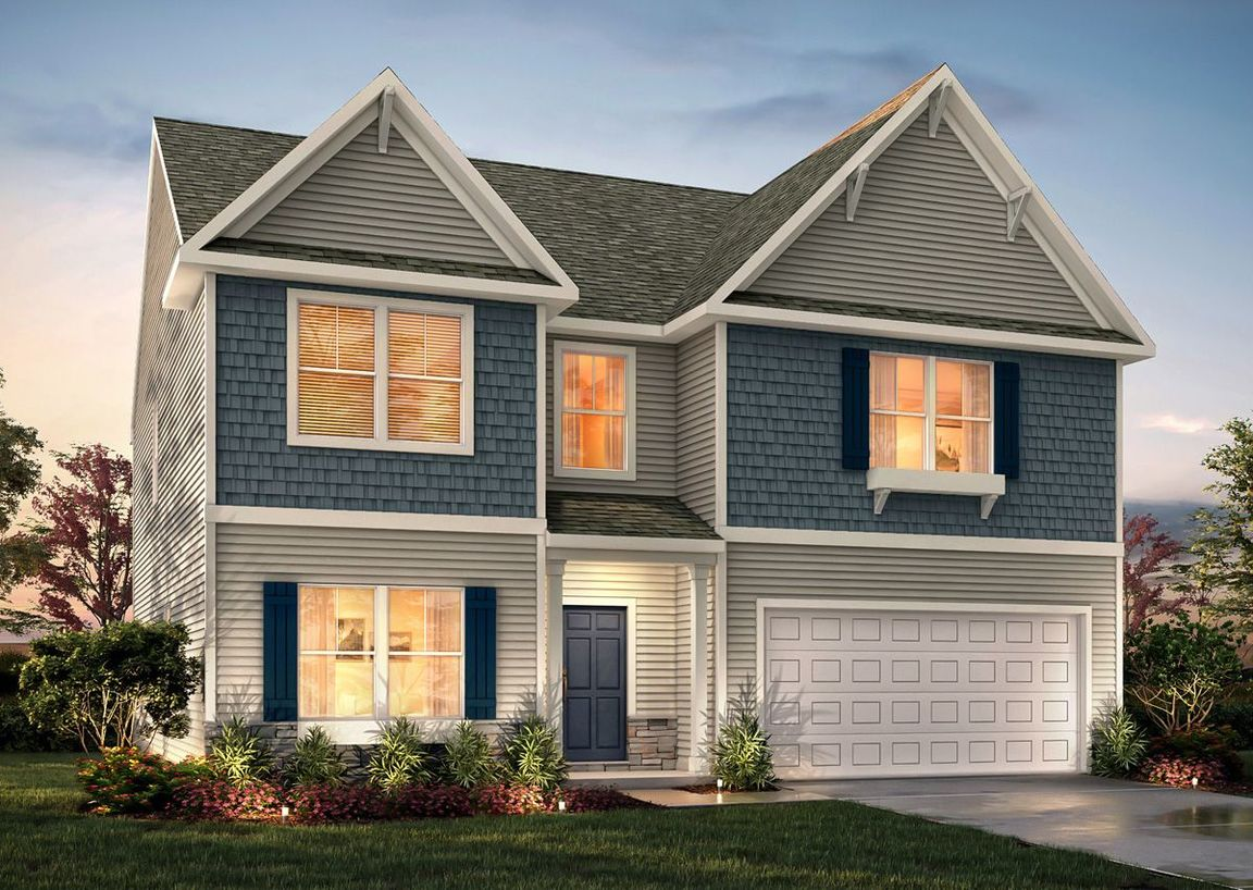 Ready To Build Home In Arlie Meadows Community
