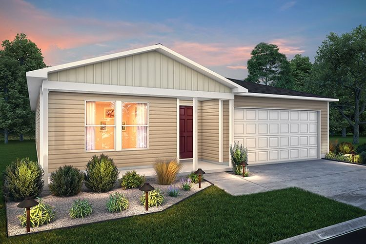 Move In Ready New Home In Tarkington Heights Community