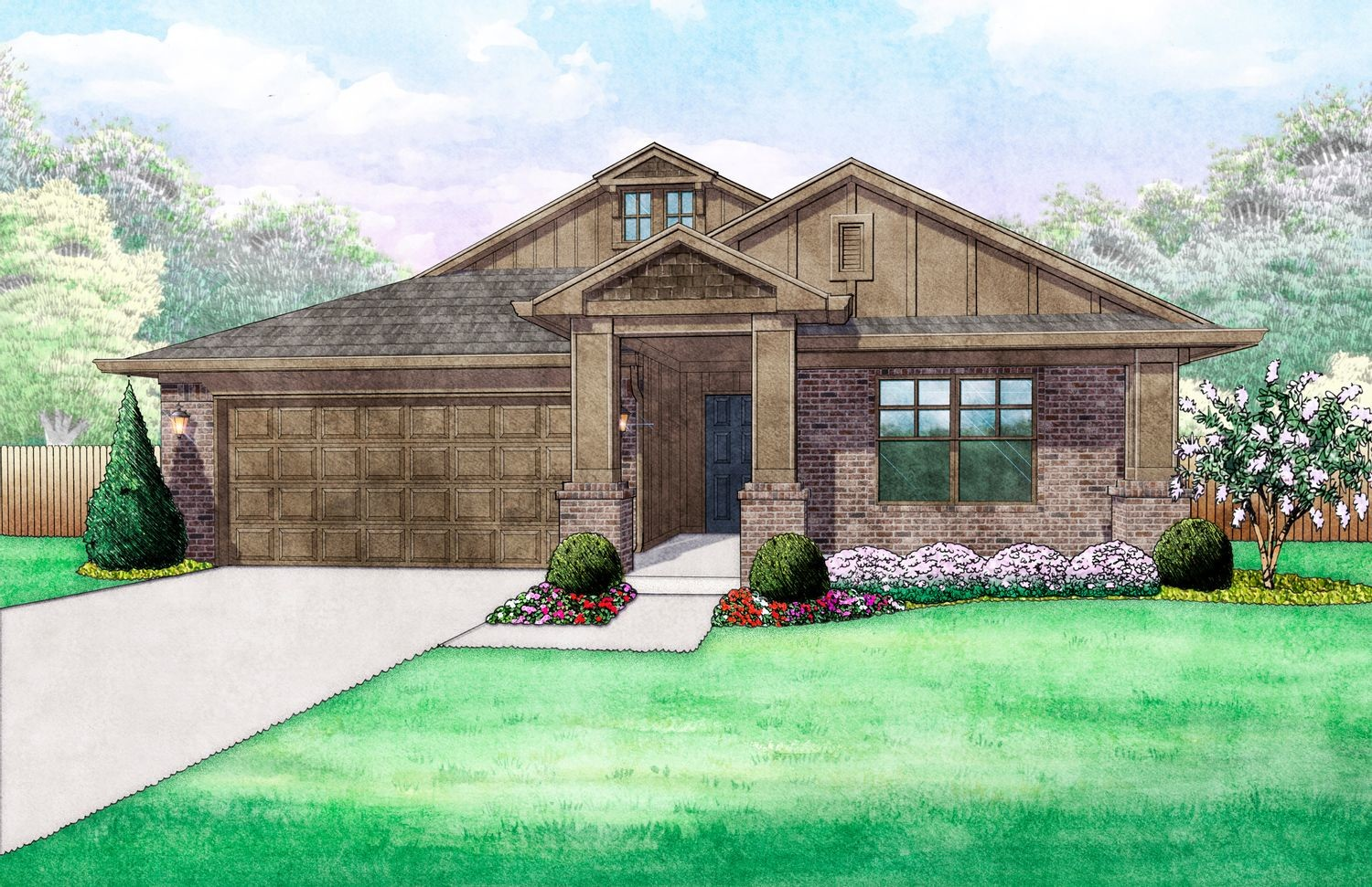 Move In Ready New Home In Oasis Ranch Community