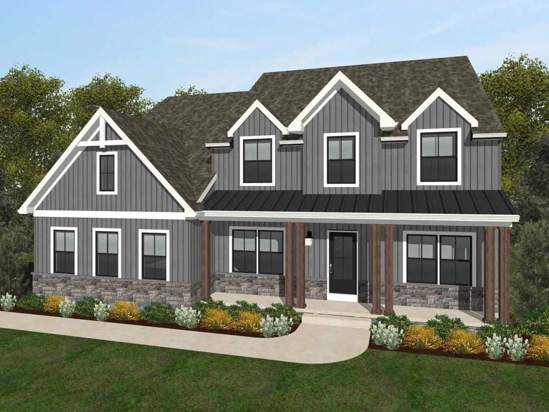 Ready To Build Home In Country Club Overlook Community