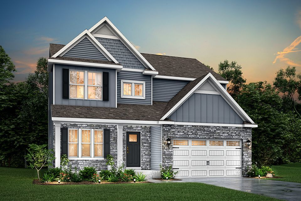 Ready To Build Home In Evergreen Ridge Community