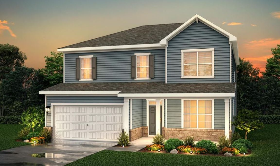 Ready To Build Home In Southwind Community