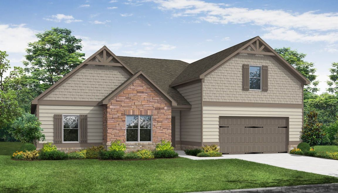 Ready To Build Home In Berkeley Lakes Community