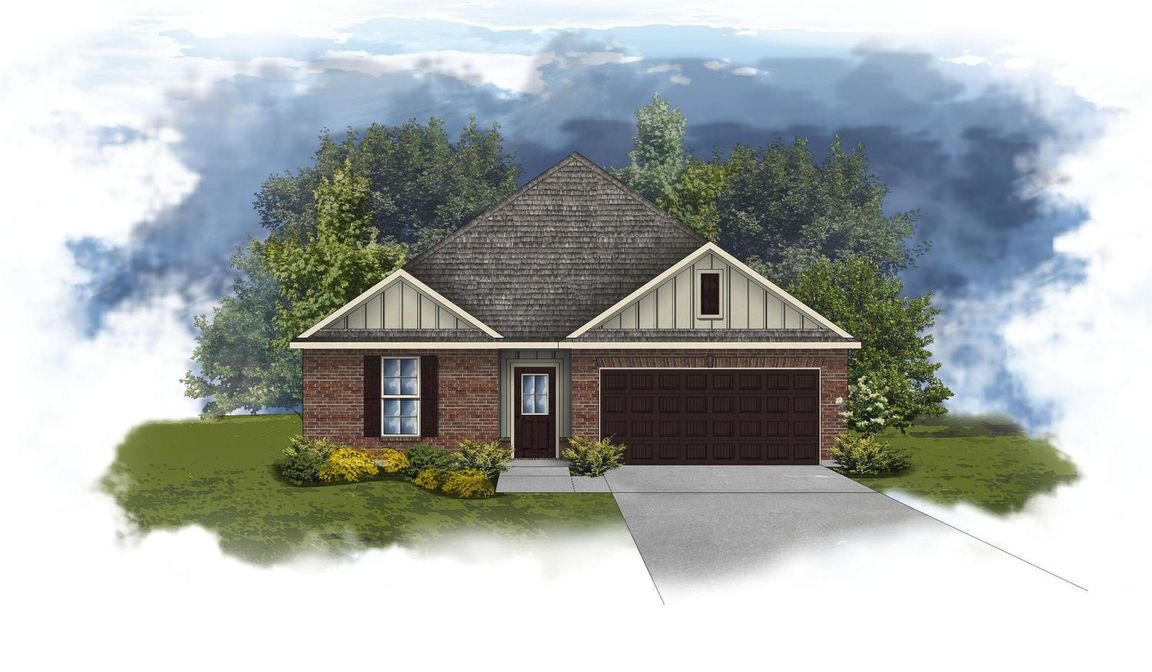 Ready To Build Home In Kennesaw Creek Community
