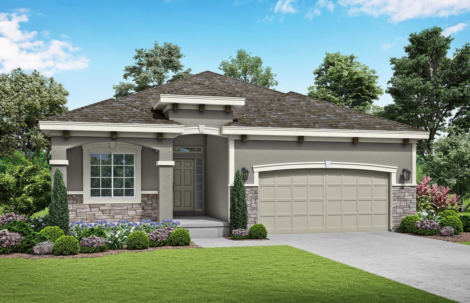 Ready To Build Home In Care-Free at Foxwood Ranch Community