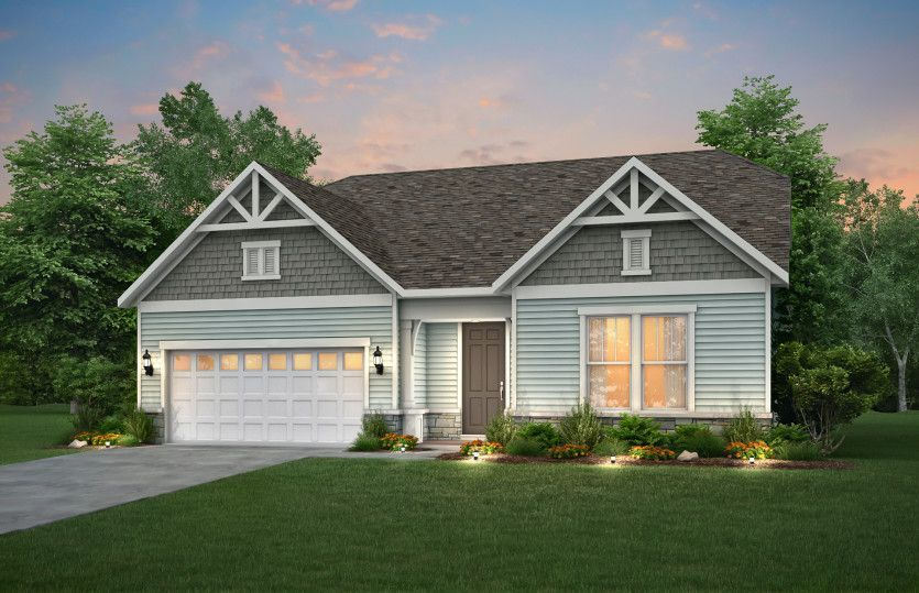 Ready To Build Home In Brier Creek Community