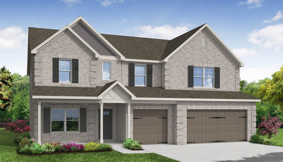 Ready To Build Home In The Preserve Community
