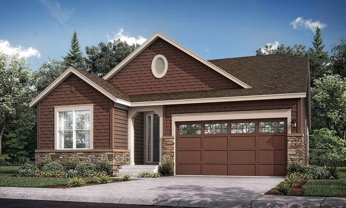 Move In Ready New Home In Meadowbrook Heights - The Monarch Collection Community