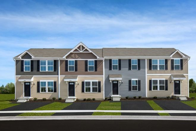 Move In Ready New Home In Thornton Grove Townhomes Community