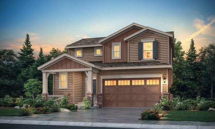 Move In Ready New Home In Gold Creek Valley - The Pioneer Collection Community