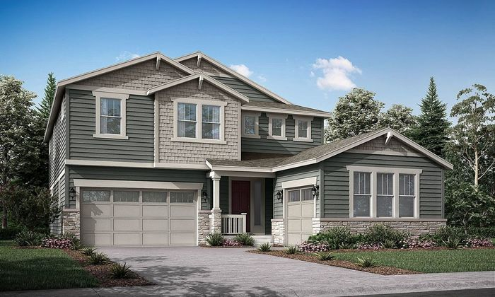 Move In Ready New Home In Wild Rose - The Grand Collection Community