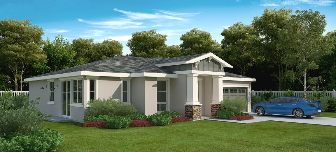Ready To Build Home In Miller Villas-Fontana Community