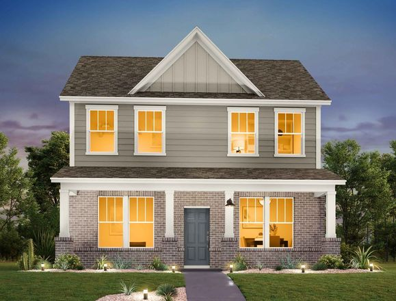Move In Ready New Home In Mockingbird Park Cottages Community
