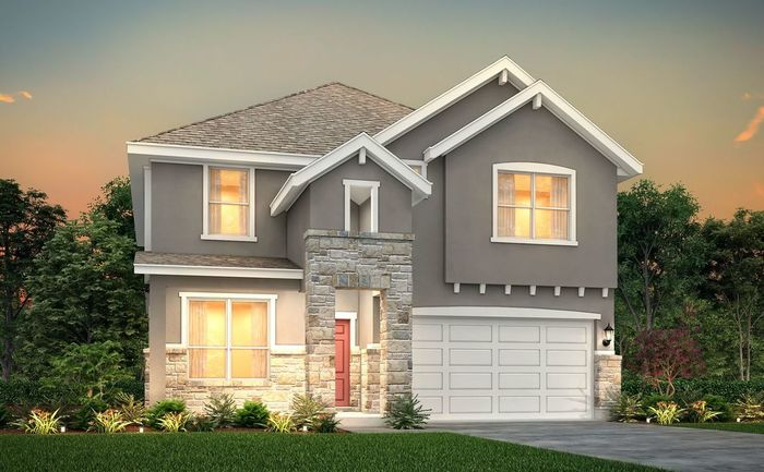 Move In Ready New Home In Crystal Springs-The Lakes Community