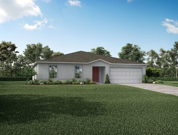 Ready To Build Home In Orange City Community