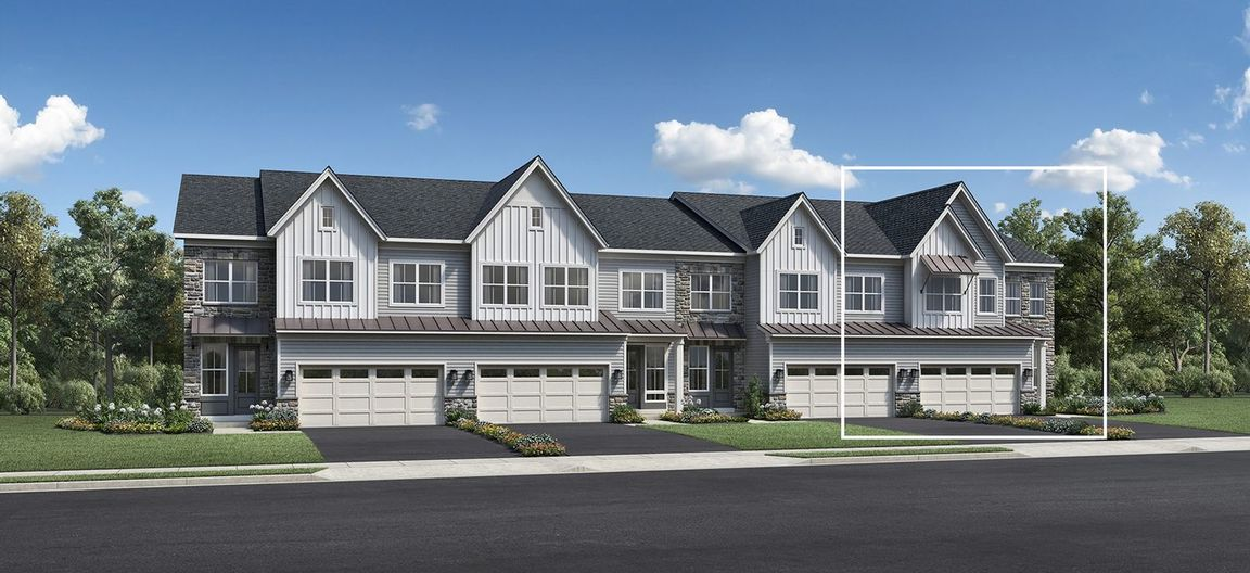 Move In Ready New Home In Reserve at Emerson Farm - Carriage Collection Community
