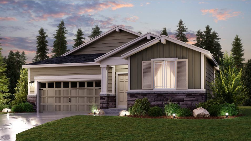 Move In Ready New Home In Sunrise - The Crossings Community