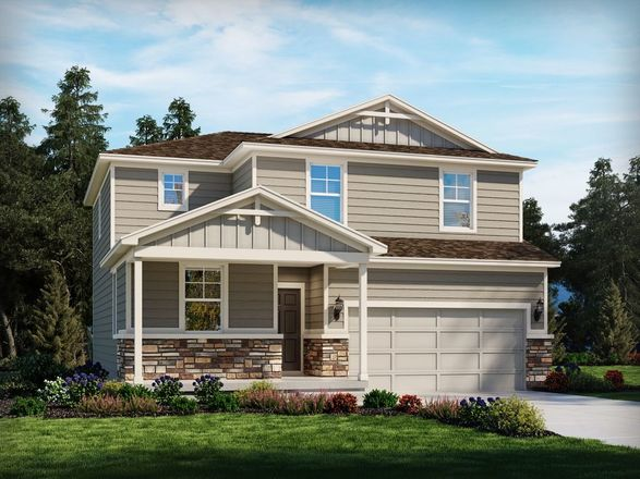 Move In Ready New Home In Sunstone Village at Terrain Community