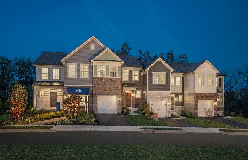 Move In Ready New Home In Valley Forge Greene Community