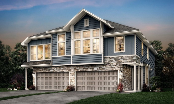 Ready To Build Home In Fulton Station - Urban Villas Collection Community