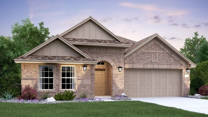 Move In Ready New Home In Enclave at Estancia - Brookstone II Collection Community