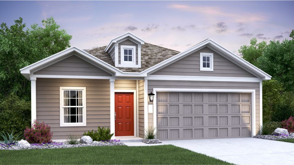Ready To Build Home In Elm Creek - Watermill Collection Community
