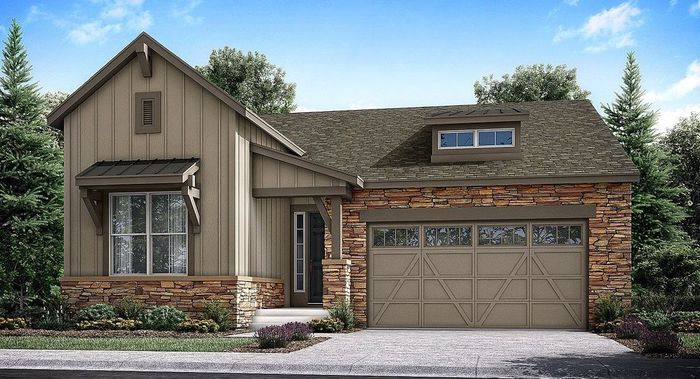 Move In Ready New Home In Sterling Ranch - The Monarch Collection Prospect Village Community
