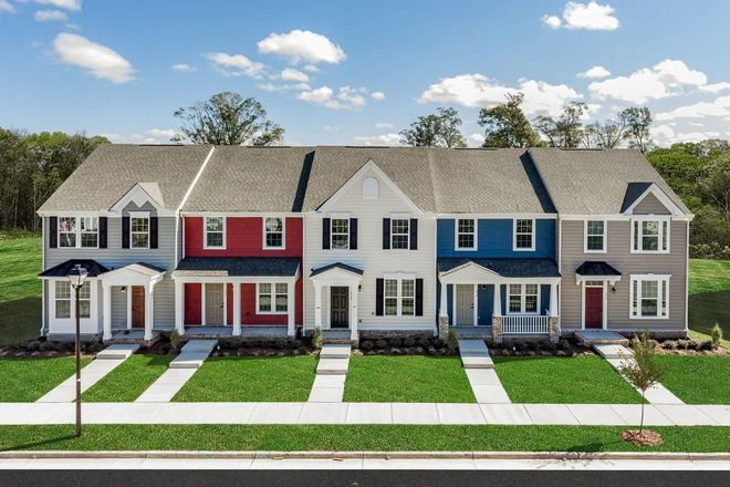 Move In Ready New Home In New Port Townes Community