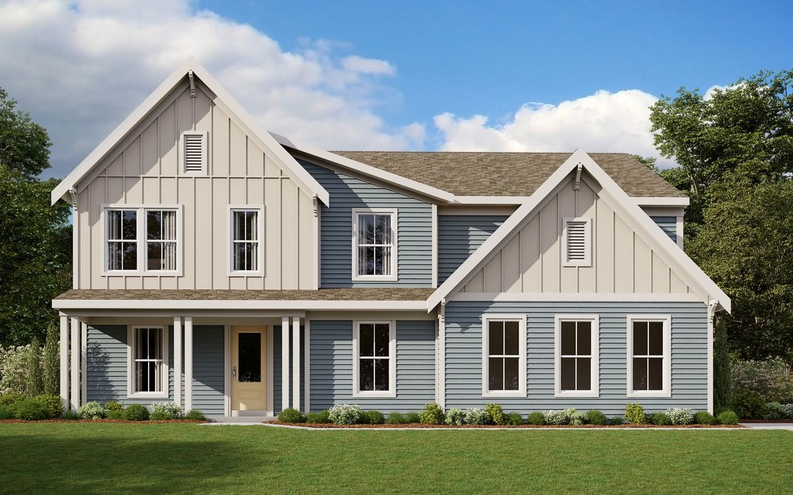 Ready To Build Home In Chatham Ridge at Canterbury Trails Community
