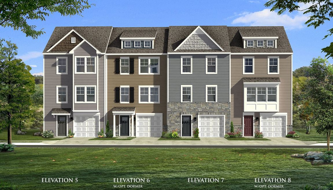 Move In Ready New Home In Homestead Acres Townhomes Community
