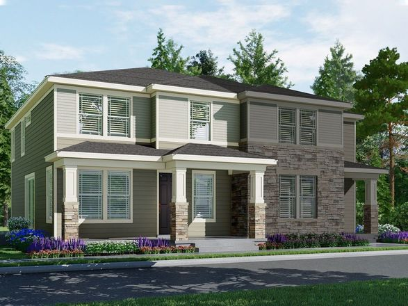 Move In Ready New Home In Village at Southgate: The Town Collection Community