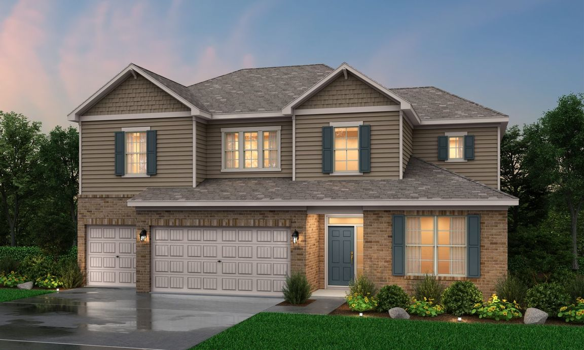 Move In Ready New Home In Creek Bend Community