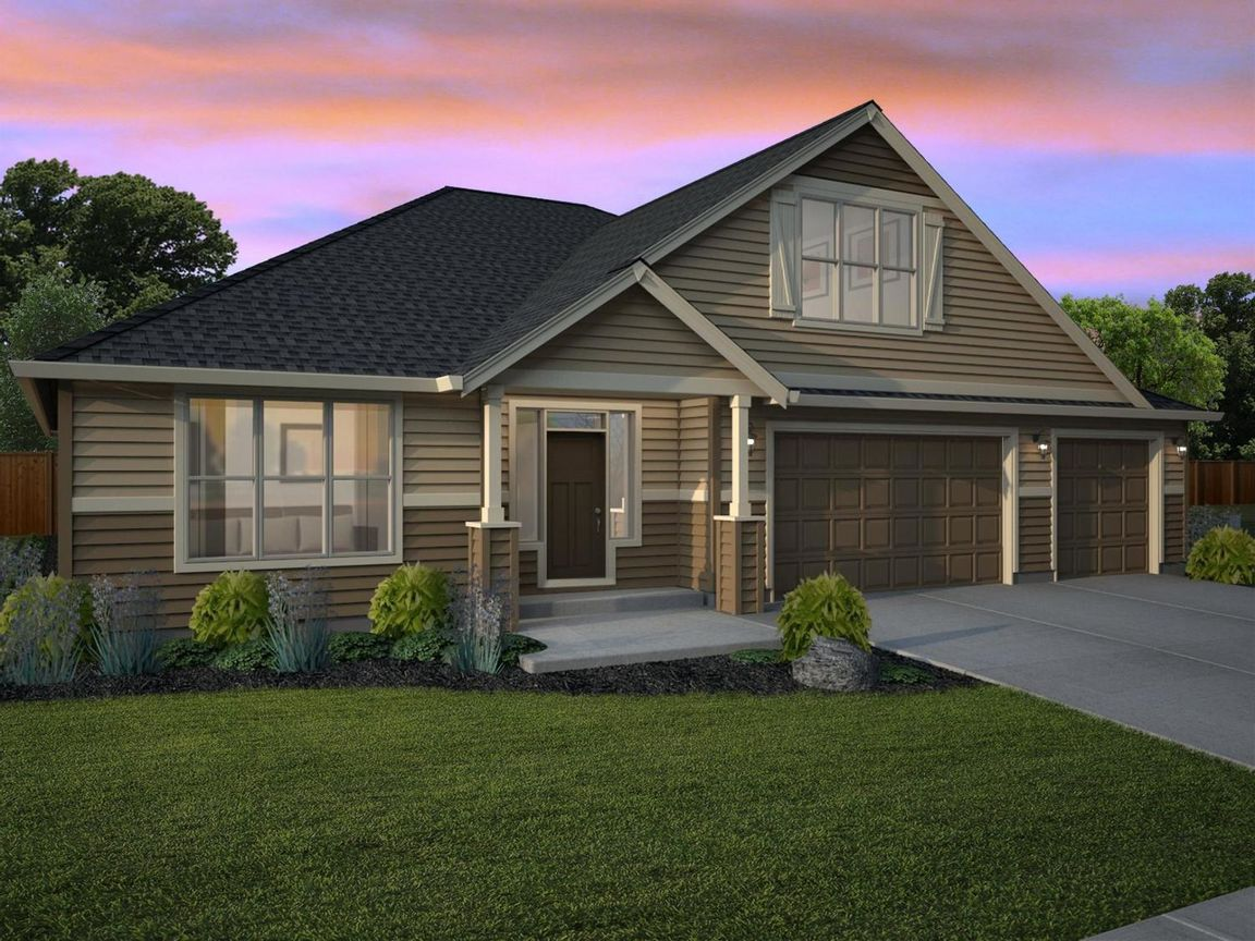 Ready To Build Home In Pleasant View Estates Community