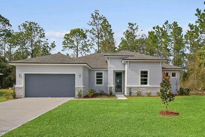 Ready To Build Home In North Port Community