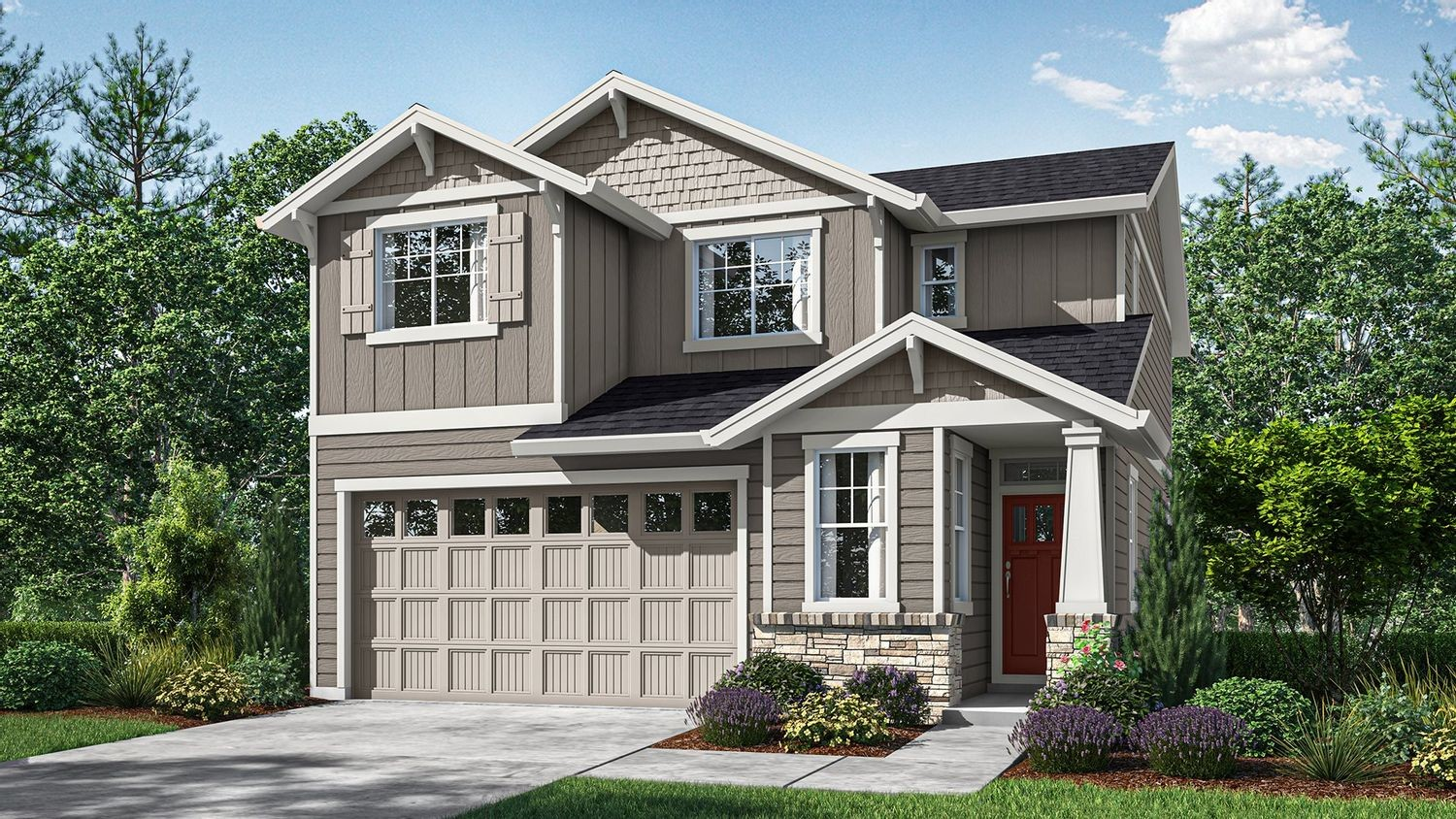 Ready To Build Home In Baker Creek - The Opal Collection Community