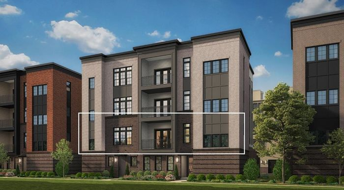 Move In Ready New Home In Metro Walk at Moorefield Station - Flats Community