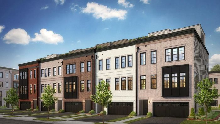 Move In Ready New Home In Metro Walk at Moorefield Station - Brownstones Community