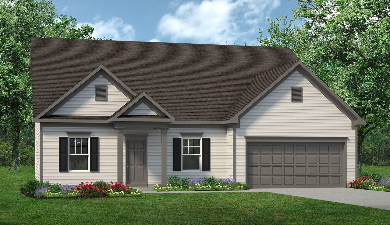 Ready To Build Home In Hastings Manor Community