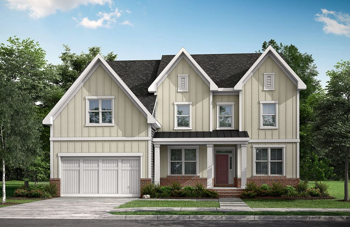 Ready To Build Home In Grove Valley Farm Community