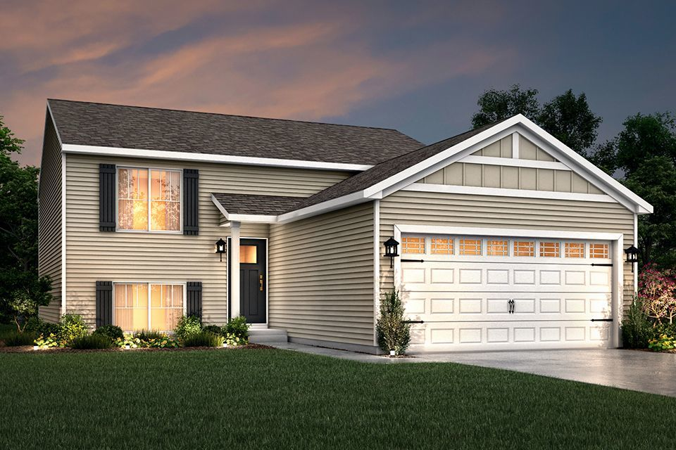 Ready To Build Home In Prairieview Farms Community