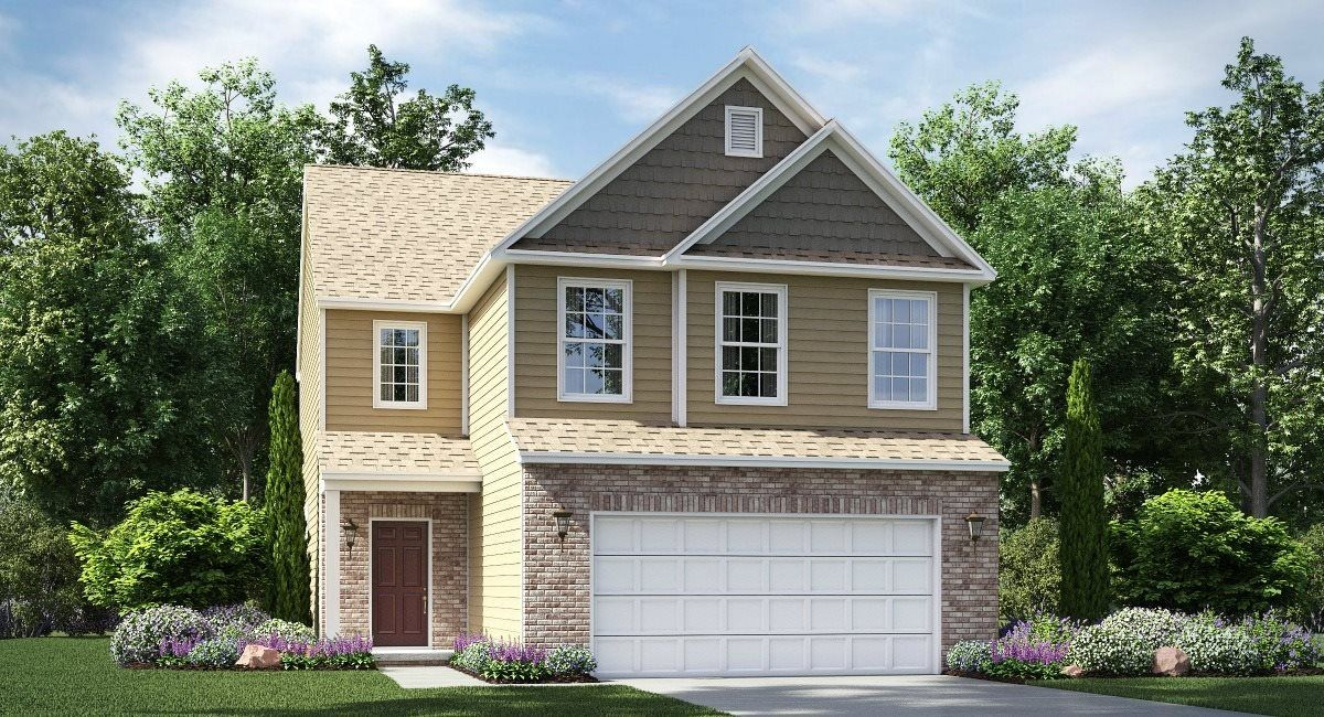 Ready To Build Home In Magnolia Place Community