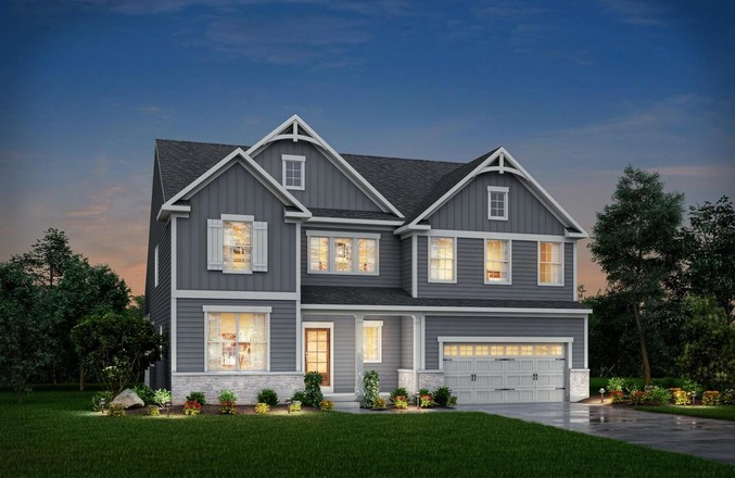 Ready To Build Home In The Preserve at Ironstone Community