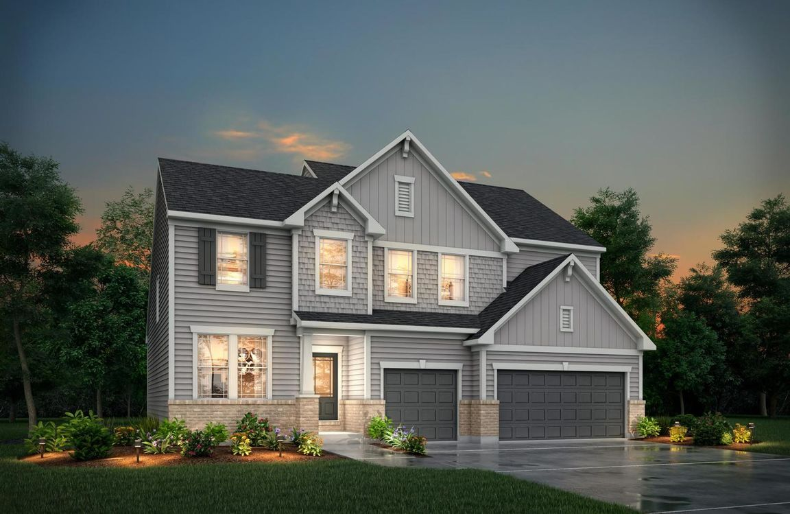 Ready To Build Home In Prell Retreat Community