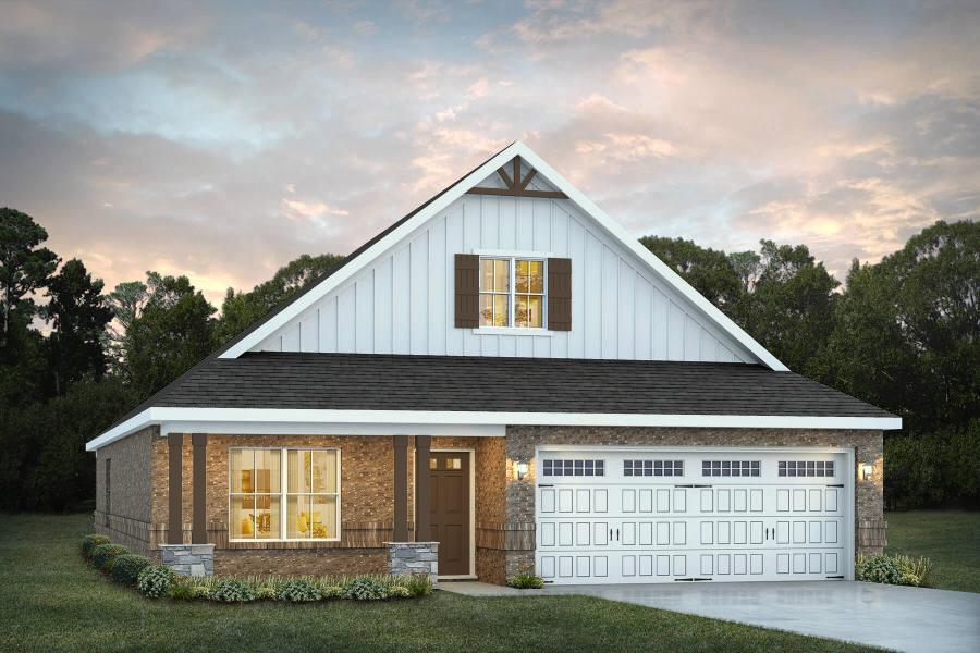 Move In Ready New Home In Smiths Crossing Community