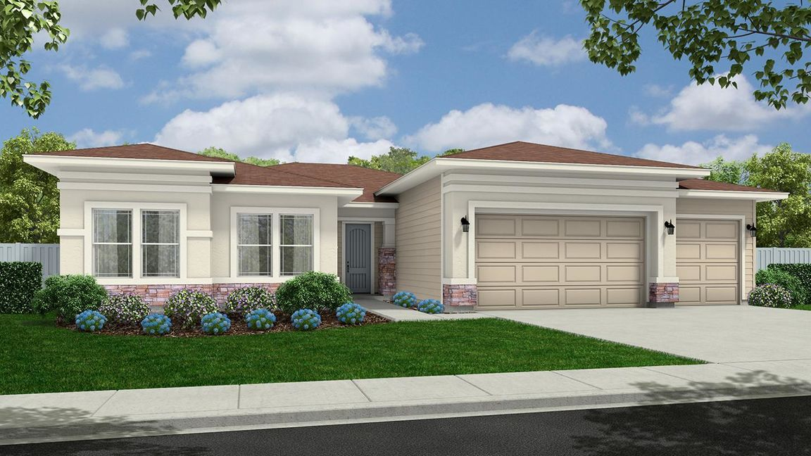 Move In Ready New Home In Meadows at West Highlands - Woodland Community